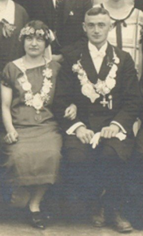 Königspaar 1925