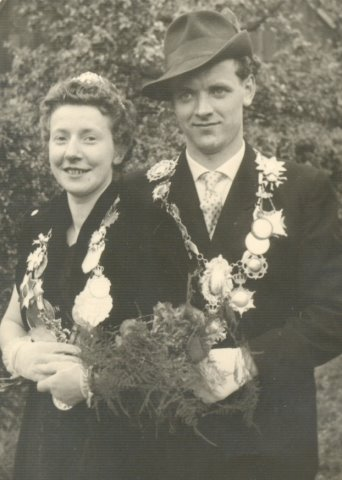Königspaar 1958